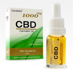 CBD Cannabis Oil Canibidol - 1000mg-10ml