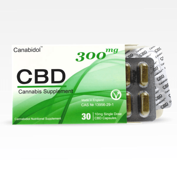CBD Cannabis Supplement 300mg 30 pieces