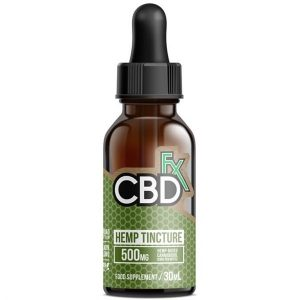CBD Hemp MCT Oil Tincture 500 Series 30ml By CBDfx
