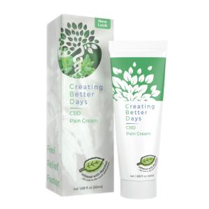 CBD Pain Cream 300mg 50ml Creating Better Days