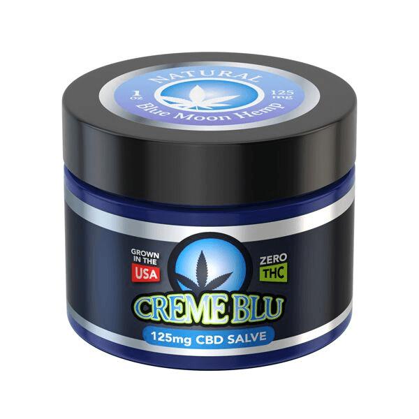 CBD Salve 125mg 1 Oz Blue Moon Hemp