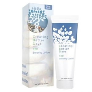 CBD Serenity Cream 50ml by Creating Better Days