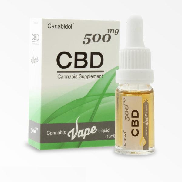 Cannabis CBD Vape Liquid Canabidol (10ml) - 500mg