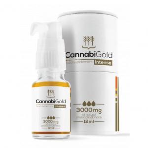 CannabiGold - Intense Food Supplement - 3000mg - 12ml