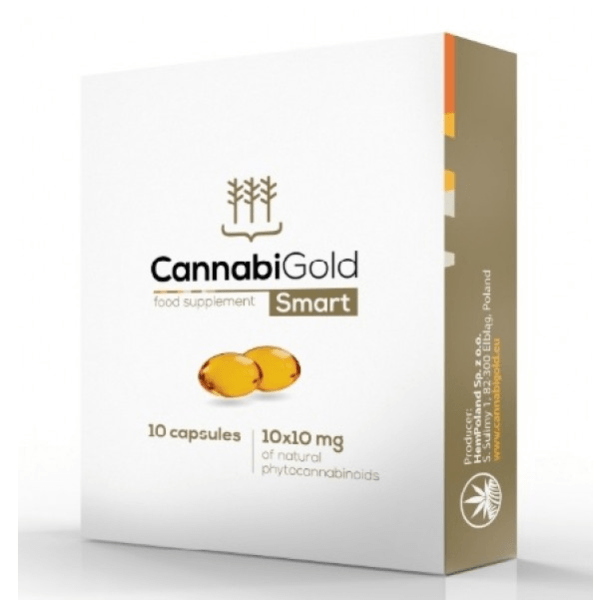 CannabiGold - Smart Food Supplement - 10x10mg