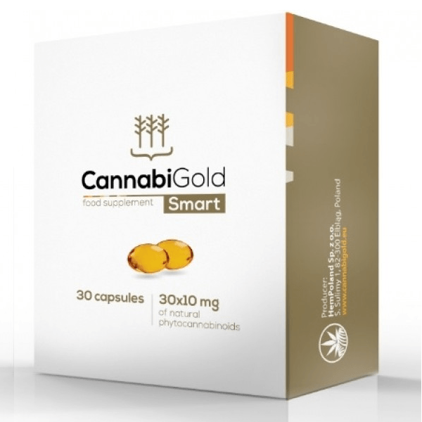 CannabiGold - Smart Food Supplement - 30x10mg