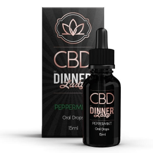 Dinner Lady CBD - Oral Drops - Peppermint - 30ml