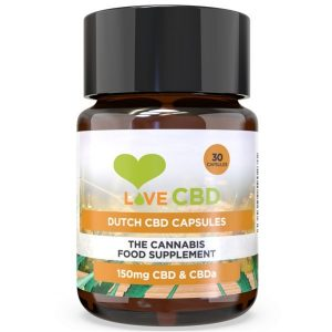 Dutch Capsules Love CBD 150mg