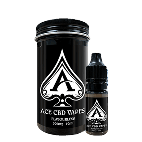 Flavourless CBD E Liquid 10ml By Ace CBD Vapes