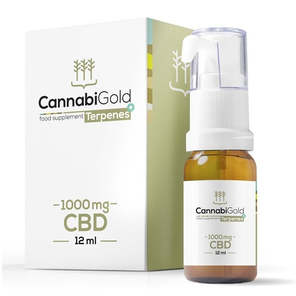 Food Supplement Balance Oil 1000mg 12ml By Cannabigold Terpenes+