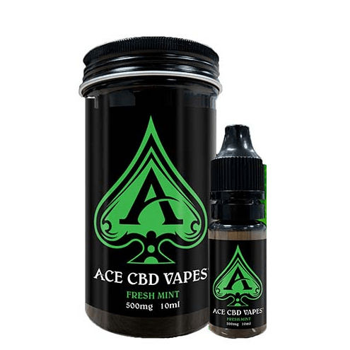 Fresh Mint CBD E Liquid 10ml By Ace CBD Vapes