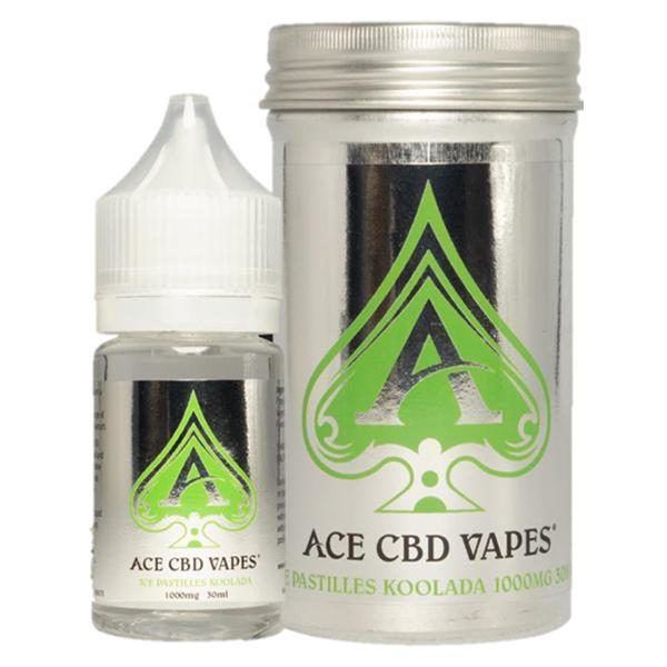 Ice Pastilles Koolada CBD E Liquid by Ace CBD Vapes
