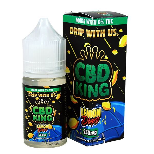 Lemon Drops CBD E Liquid By CBD King 30ml