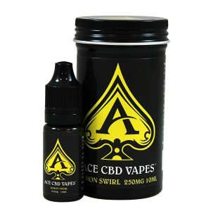 Lemon Swirl CBD E Liquid 10ml By Ace CBD Vapes 250mg