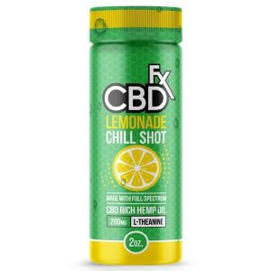 Lemonade CBD Chill Shot 20mg 60ml By CBDfx