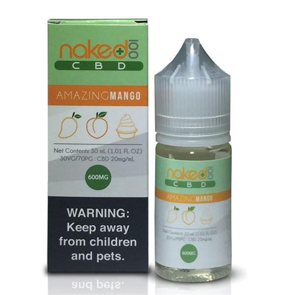 7046f45357c0 Amazing Mango 30ml CBD E Liquid By Naked 100 CBD 600mg - CBD Oil UK