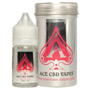 Pink Lemonade CBD E Liquid 30ml By Ace CBD Vapes