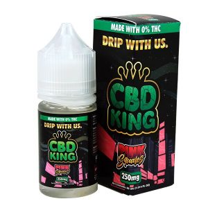 Pink Squares E Liquid By CBD King 30ml