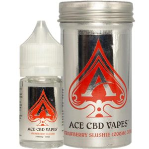 Strawberry Slushie CBD E Liquid 30ml By Ace CBD Vapes