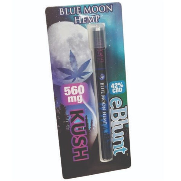eBlunt Kush 560mg Blue Moon Hemp
