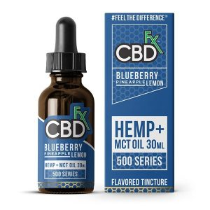 CBDfx MCT Oil Tincture 30ml Blueberry Pineapple Lemon