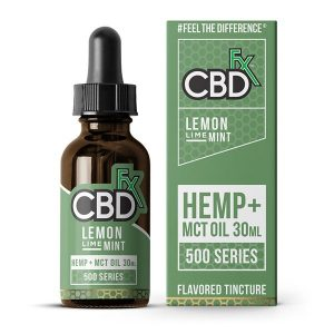 CBDfx MCT Oil Tincture 30ml Lemon Lime Mint