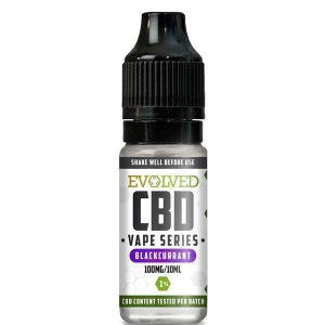 Evolved CBD Blackcurrant Vape 10ml Bottle