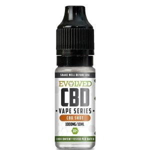 Evolved CBD Shot Vape 10ml Bottle