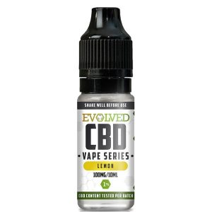 Evolved CBD Lemon Vape 10ml Bottle