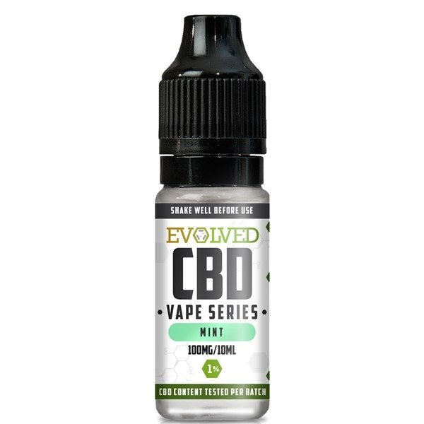 Evolved CBD Mint Vape 10ml Bottle