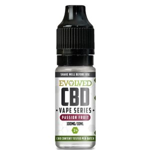 Evolved CBD Passion Fruit Vape 10ml Bottle