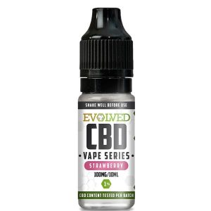 Evolved CBD Strawberry Vape 10ml Bottle