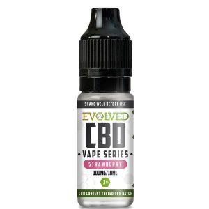 Evolved CBD Strawberry Vape 10ml Bottle