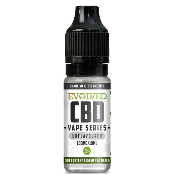 Evolved CBD Unflavoured Vape 10ml Bottle