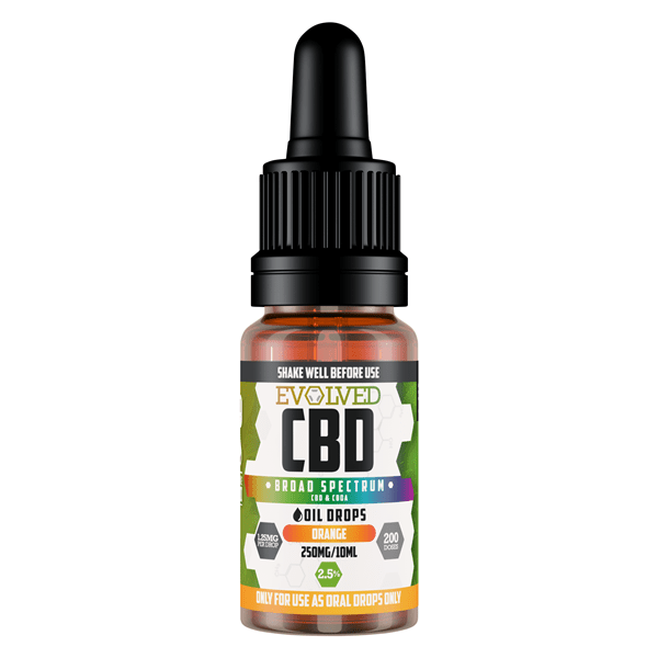 Evolved CBD Oil Orange 2000mg - 20%
