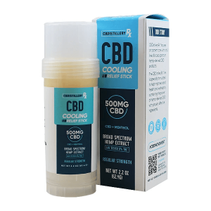 Cooling Relief Stick Hemp Extract & Menthol By CBDistillery