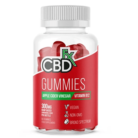 CBD Gummies Apple Cider Vinegar Vitamin B12 300mg By CBDfx