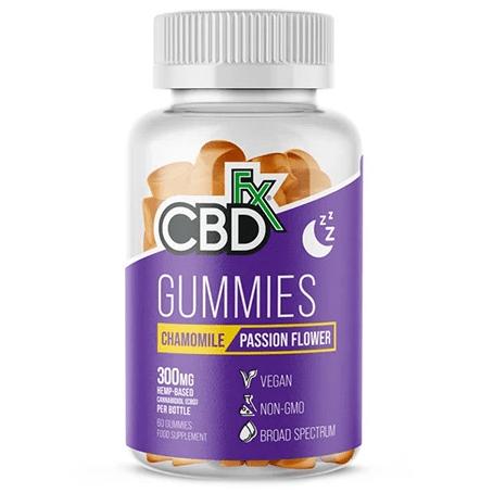 CBD Gummies Chamomile Passion Flower 300mg By CBDfx