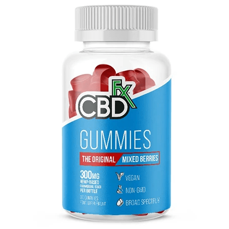 CBD Gummy Bears Original Mixed Berry 300mg By CBDfx