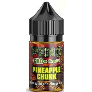 Pineapple Chunk CBD E Liquid 30ml By Peng Vapour Co