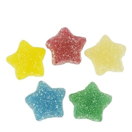 25mg CBD Fizzy Stars