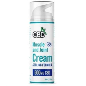 Muscle and Joint Cream Cooling Formula 50ml By CBDfx