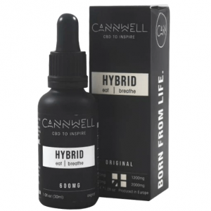 Premium Organic Multi-Use CBD Liquid 30ml By Cannwell