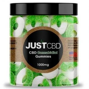 CBD Apple Rings Gummies By Just CBD