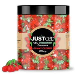 CBD Cherry Gummies By Just CBD