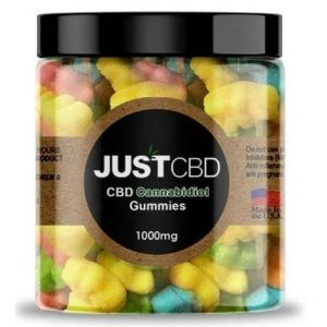 CBD Sour Bear Gummies By Just CBD