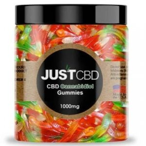 CBD Worms Gummies By Just CBD