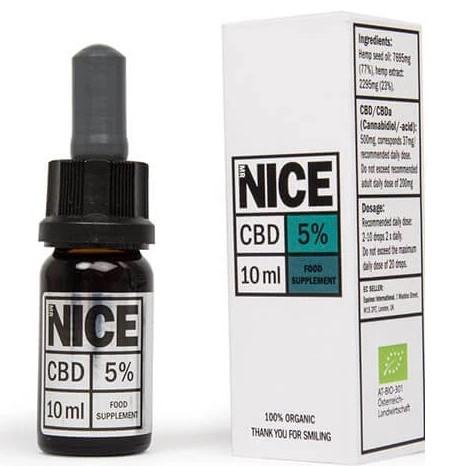 Organic CBD Oil 10ml By Mr Nice