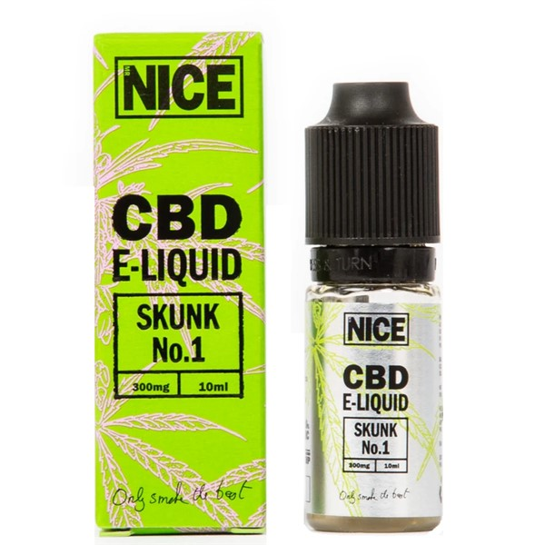 Skunk No.1 CBD E Liquid 10ml By Mr Nice