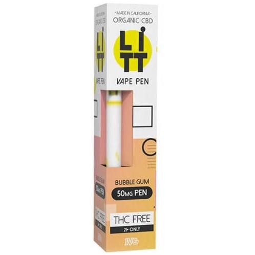 Bubble Gum Litt Disposable CBD Pen 50mg